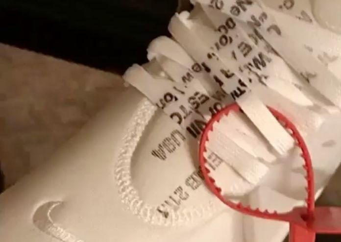 DJ Khaled Gives Us A Look At An Exclusive OFF-WHITE x Nike Air Presto In All-White