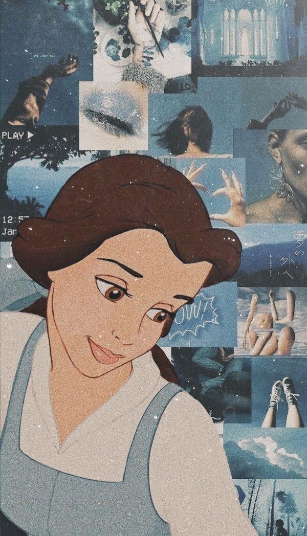 Belle Wallpaper In 2021 Disney Wallpaper Disney Phone Wallpaper Disney Princess Wallpaper