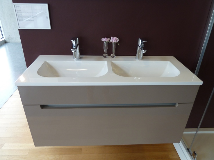79 best images about Bathroom Inspirations on Pinterest  Double sink vanity, # Wasbak Plieger_142236