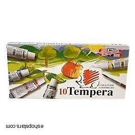 Tempery 10 farieb KOH-I-NOOR 1ks