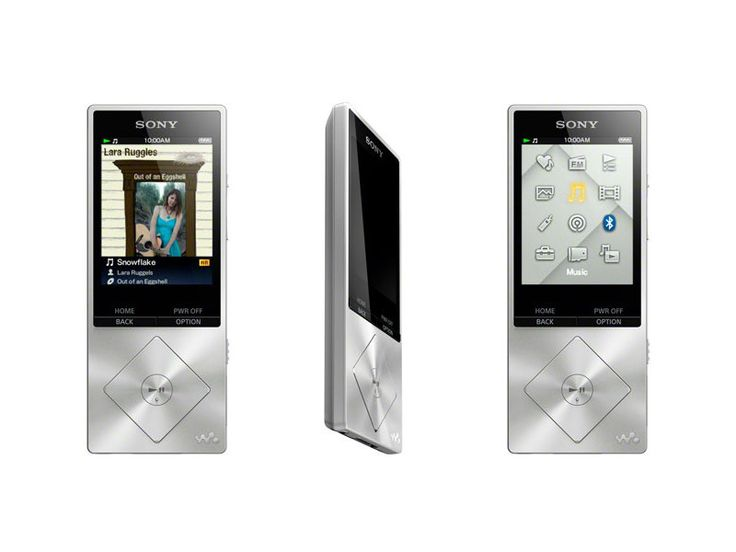 Sony Walkman NWZ-A17, high resolution audio player