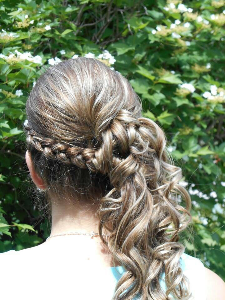 8th Grade Graduation Updo Guardados R 225 Pidos Pinterest Peinados