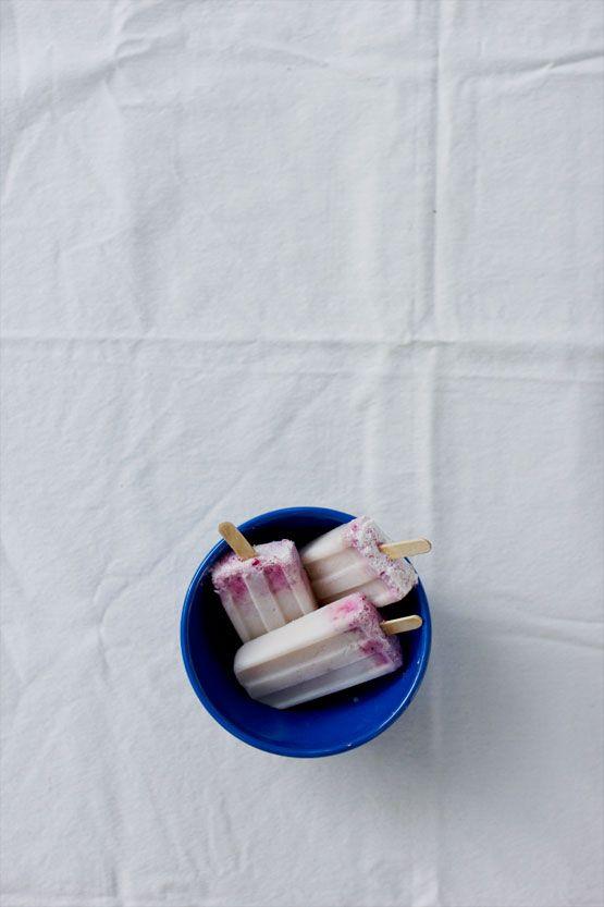 goats milk & raspberry creamsicles