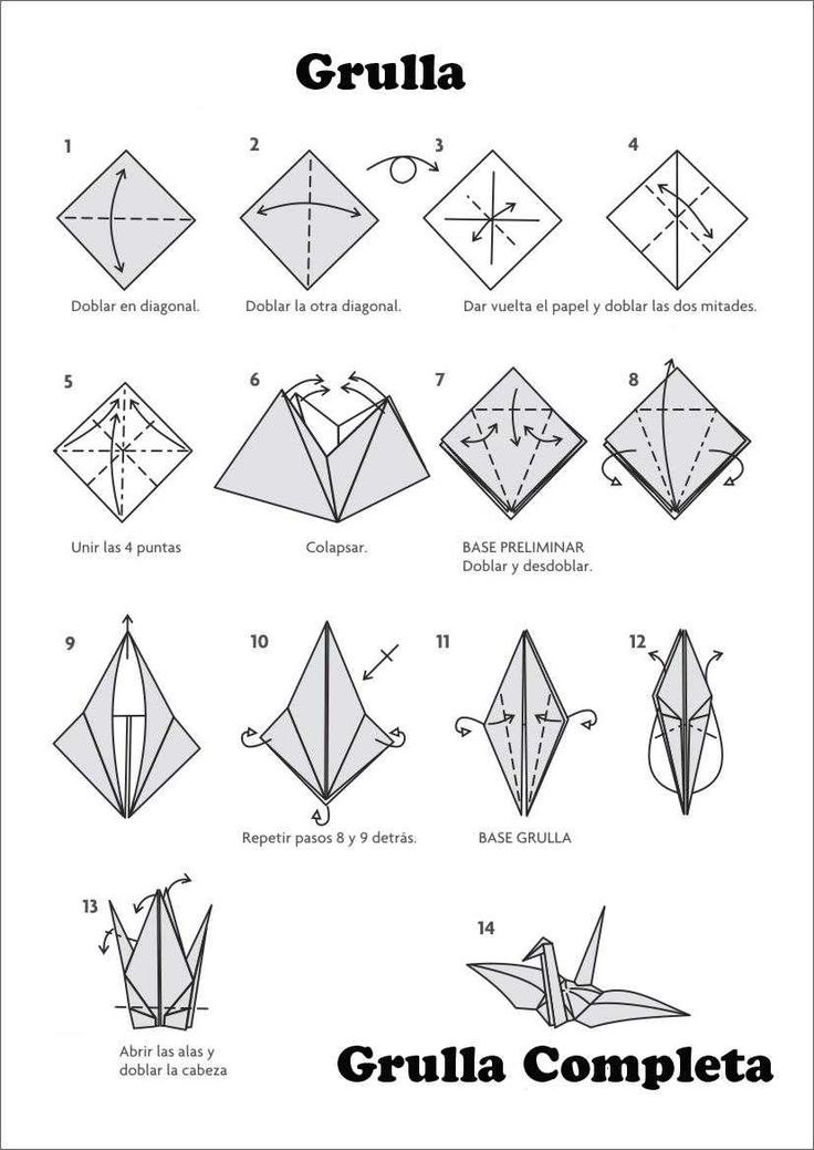 M s de 25 ideas fant sticas sobre instrucciones de origami - Como hacer una barbacoa paso a paso ...