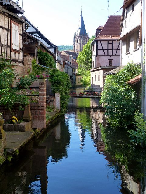 Lovely town of Wissembourg in Alsace, France (by Bibendum41).