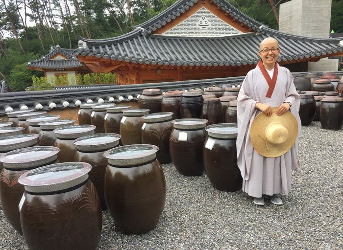 In South Korea, Buddhist temple food is viewed the way spa food is in the U.S.: curative, cleansing, perhaps even medicinal. Buddhist nuns have preserved these cooking techniques for 1,600 years.