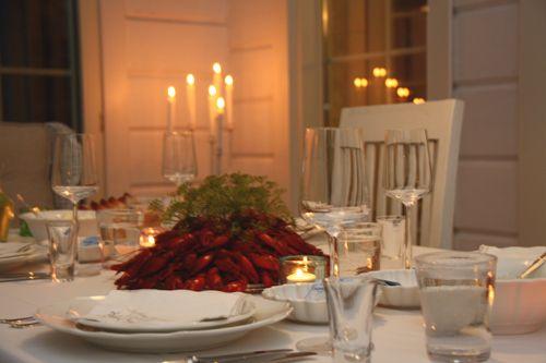 Rapujuhlat crayfish party