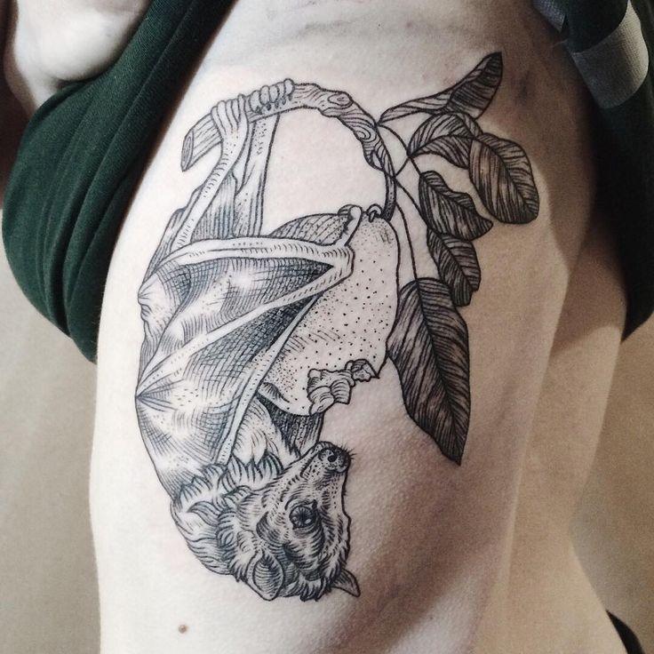 Bat Tattoo | interesting.