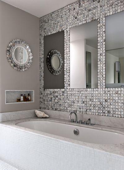 Couleur grise pour la salle de bain : élégance et intemporalité