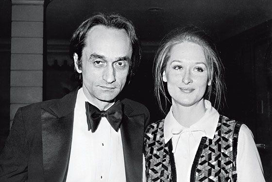 Cazale and Streep in 1976.