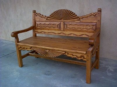 Front Porch??? Southwest Benches, Custom Southwestern Benches
