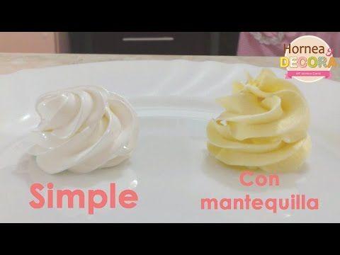 Merengue Suizo (simple y con mantequilla) / Básicos y tips - YouTube