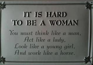 Only a woman can accomplish this without breaking a sweat! Click the picture for even MORE!!