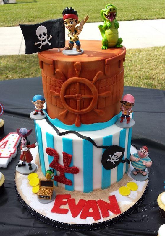 184 best cake disney jack neverland pirates images on Pinterest
