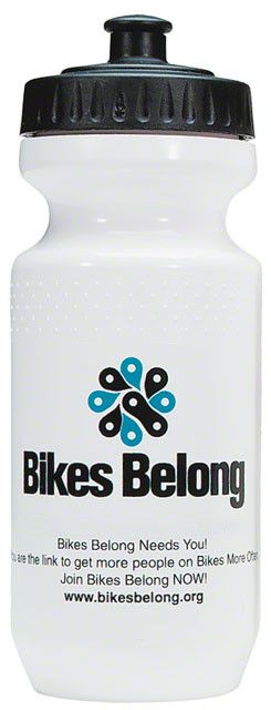 Bikes Belong Water Bottle with Logo