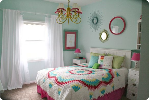 Colorful Teen Girls Bedroom Paint Colors Girls And Sea