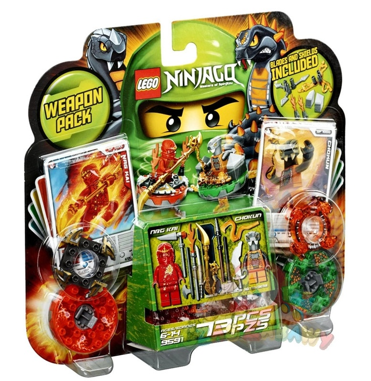 NinjaGo Spiners - Zestaw startowy