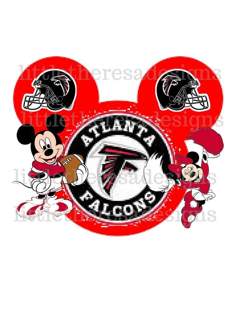 Excited to share the latest addition to my #etsy shop: Atlanta Falcons Mickey and Minnie Football Head Transfers,Digital Transfers,Digital Iron Ons,Diy http://etsy.me/2CR9Gcz #supplies #printingprintmaking #atlantafalcons #sports #football #nfl #disney #mickey #minnie