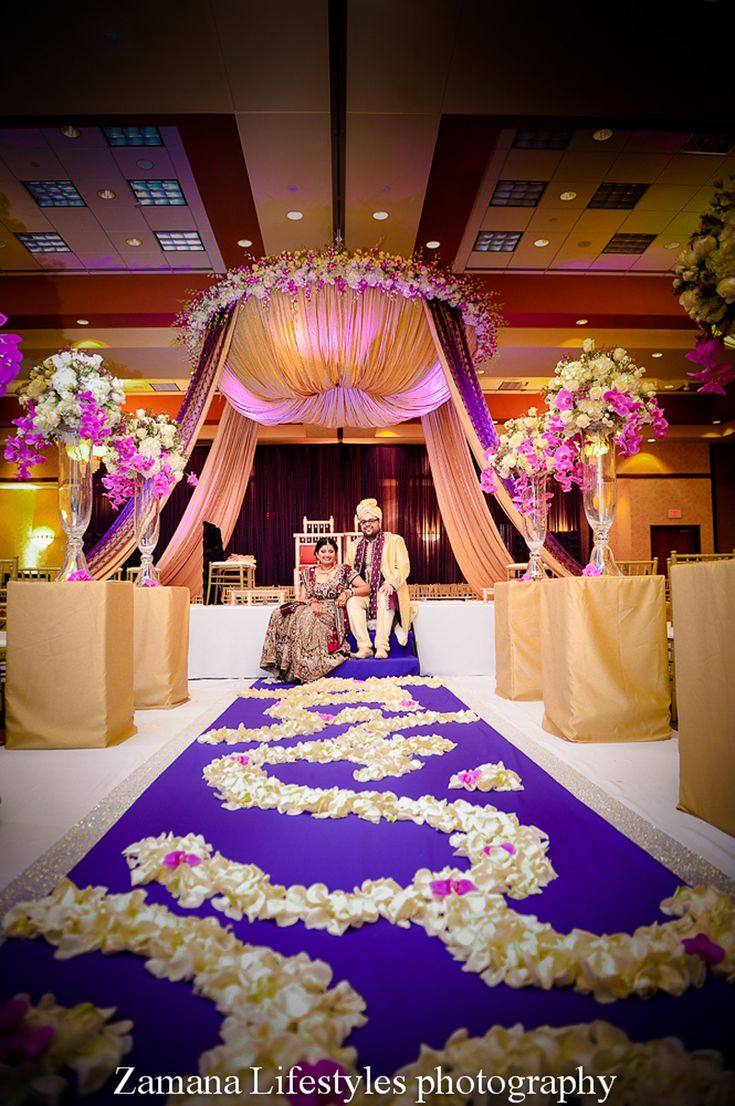 Indian wedding decor ideas. Mandap decoration