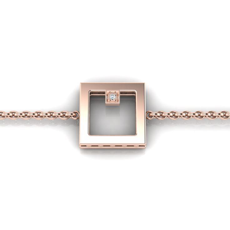 Silver Diamond Bracelet. R1000 Product Code- WW00008