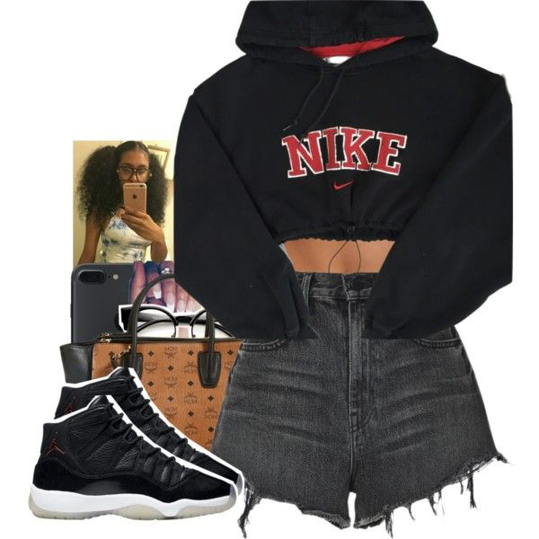 A fashion look from November 2016 featuring NIKE, Alexander Wang shorts and MCM tote bags. Browse and shop related looks.