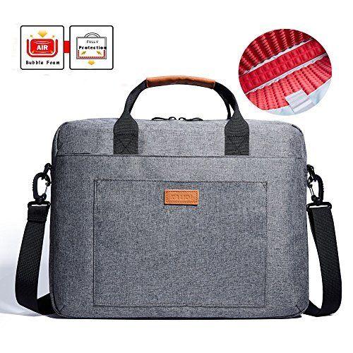 KALIDI 17 zoll laptoptasche Aktentaschen Handtasche Tragetasche Schulter tasche notebooktasche Laptop sleeve laptop hülle für bis zu 17.3 zoll für Alienware MSI Gaming Laptop mit Schultergurt Griff (Dunkelgrau), http://www.amazon.de/dp/B01LXZDD1M/ref=cm_sw_r_pi_awdl_x_zEjbyb5EMRERF