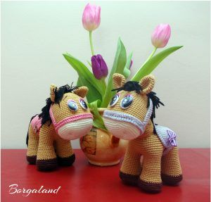 Pattern: Havva Ünlü - Cute pony  borga.land