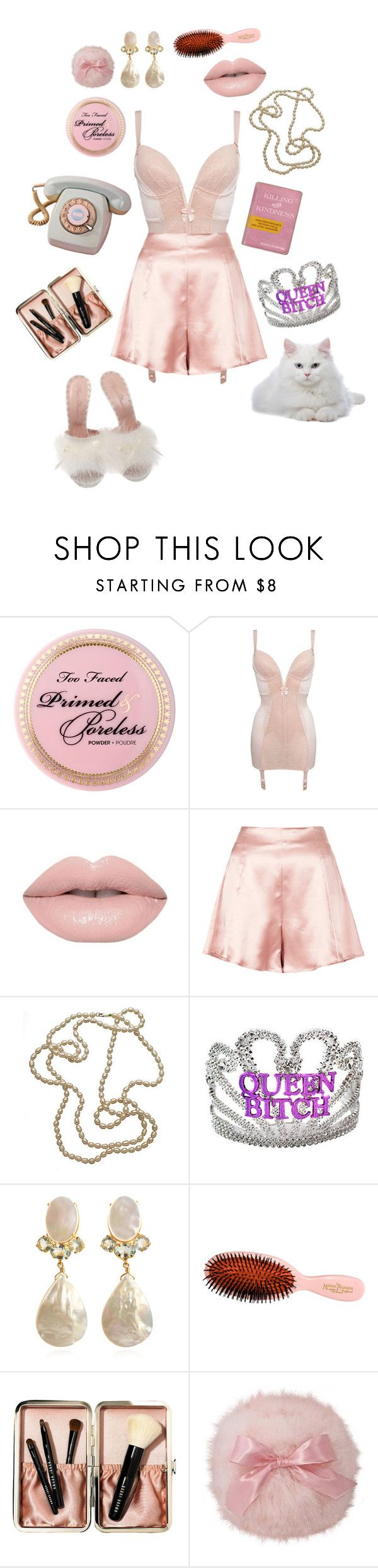 """""""I'm in control"""" by iheartdropdeadkatie ❤ liked on Polyvore featuring Gossard, Boutique, Wasabi Jewelry, Gypsy, Bounkit, Mason Pearson, Bobbi Brown Cosmetics, Agent Provocateur and vintage"""