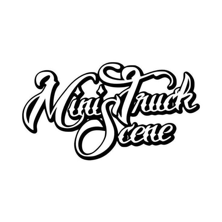 Mini Truck Scene Vinyl Decal Sticker  BallzBeatz . com