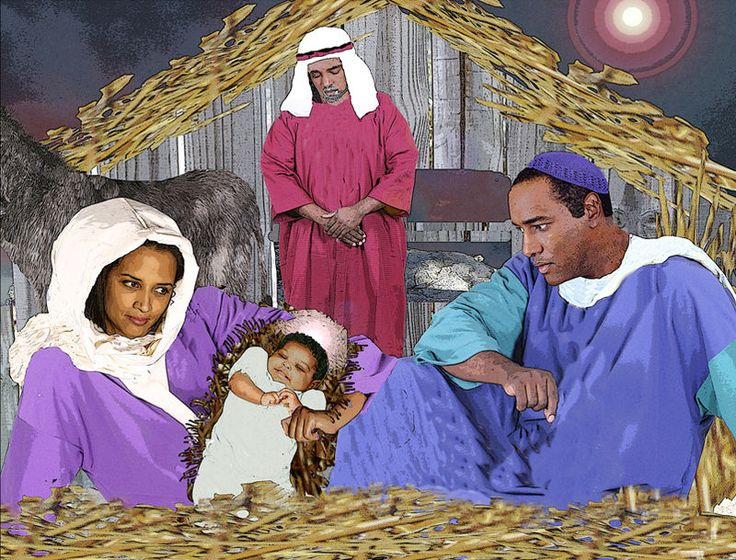 African American Baby Jesus Christmas