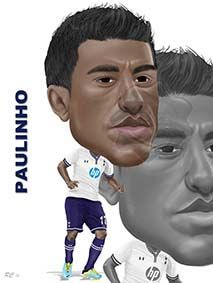 Paulinho!! A fantastic signing for the squad, a true sign of where we want to be!!!