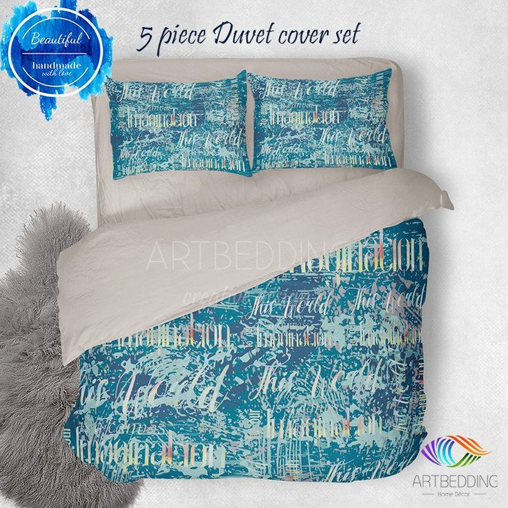 fullxfull abstract bedding goodartshop il bed art watercolor