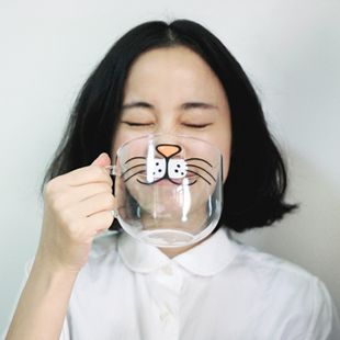 Milk just tastes better with this cat cup. #catcup #milk