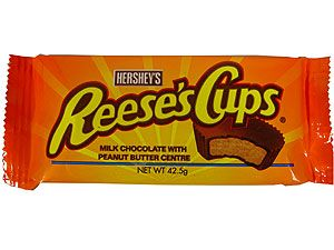 Reese's Peanut Butter Cups Reese's Peanut Butter Cups  Schoko-Pralinen mit Erdnussbutter-Füllung.  http://www.worldofsweets.de/Themen/Suessigkeiten-nach-Laendern/USA/Reese-s-Peanut-Butter-Cups.html?adword=Google/PRODUKTERWEITERUNG/Reese%27s/pla//&ia-pkpmtrack=1-9353531373234313234303-189664486-2756813926-19459378246