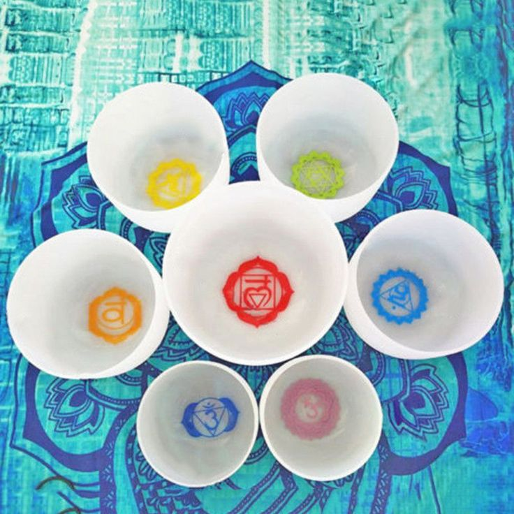 Details about topfund chakra tuned set with paternoster of