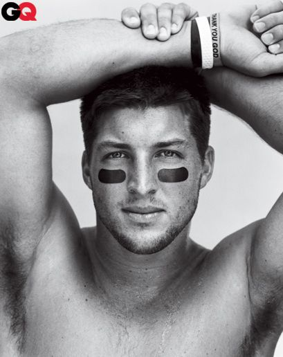Tim Tebow's GQ Cover Shoot: