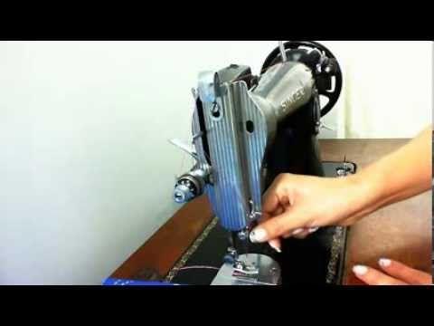Enhebrado máquina de coser