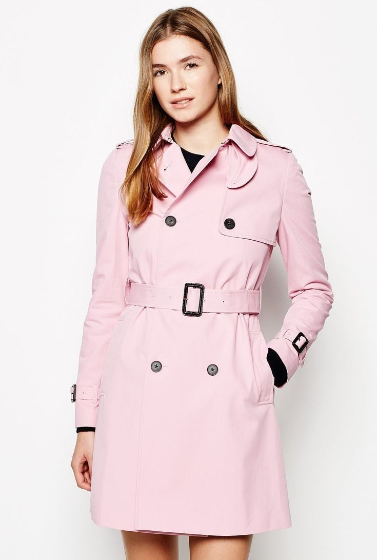 Duncombe trench coat by Jack Wills  Pretty in pink: trench coats | We take a look at the history of this iconic item and share the three pink trench coats we want in our wardrobe this season. More at madeinpink.com