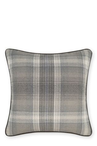 Buy Grey Cosy Check Cushion from the Next UK online shop