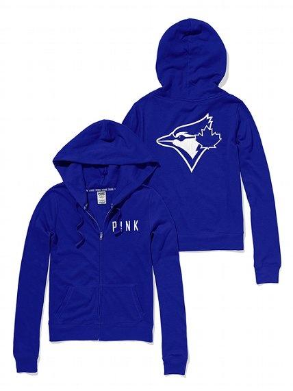 PINK Toronto Blue Jays Bling Perfect Full Zip Hoodie #VictoriasSecret http://www.victoriassecret.com/pink/toronto-blue-jays/toronto-blue-jays-bling-perfect-full-zip-hoodie-pink?ProductID=106285=OLS?cm_mmc=pinterest-_-product-_-x-_-x