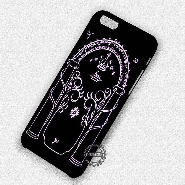 Glowing Door Moria Lord of The Ring - iPhone 7 6 5 SE Cases & Covers #movie #thelordoftherings #iphonecase #phonecase #phonecover #iphone7case #iphone7 #iphone6case #iphone6 #iphone5 #iphone5case #iphone4 #iphone4case