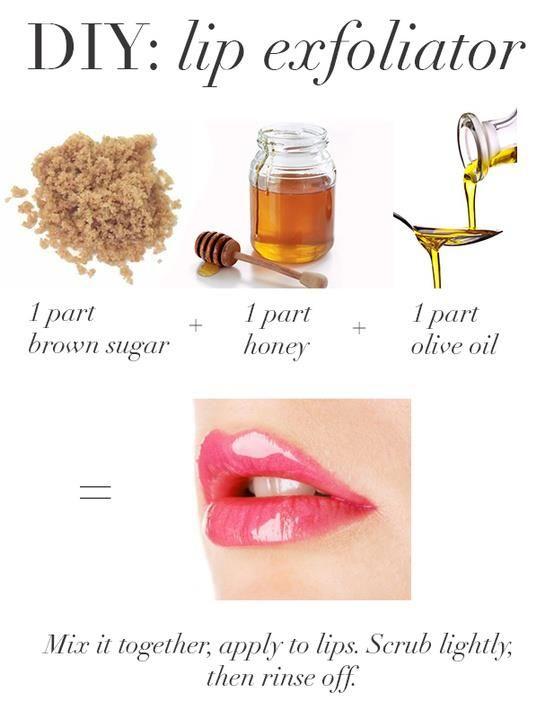 tips para exfoliar los labios