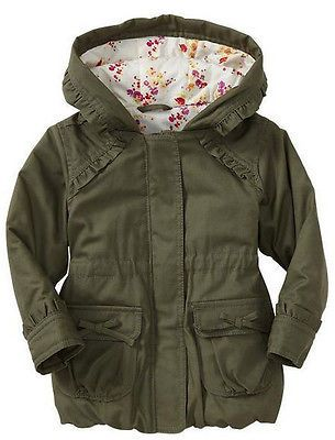 Baby Gap Girls Canvas Ruffle Parka #FOLLOWITFINDIT