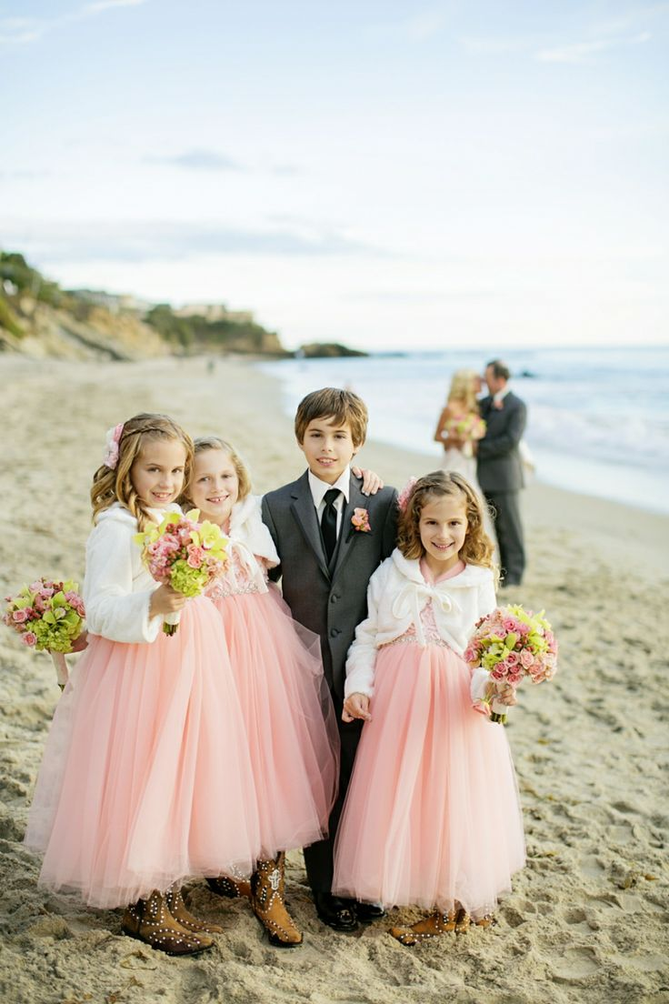 43 best modest flower girls images on pinterest wedding flower flower girl ring bearer idea flower girls in pink tulle ball gowns and ring bearer in gray suit photo by chard photo ombrellifo Image collections
