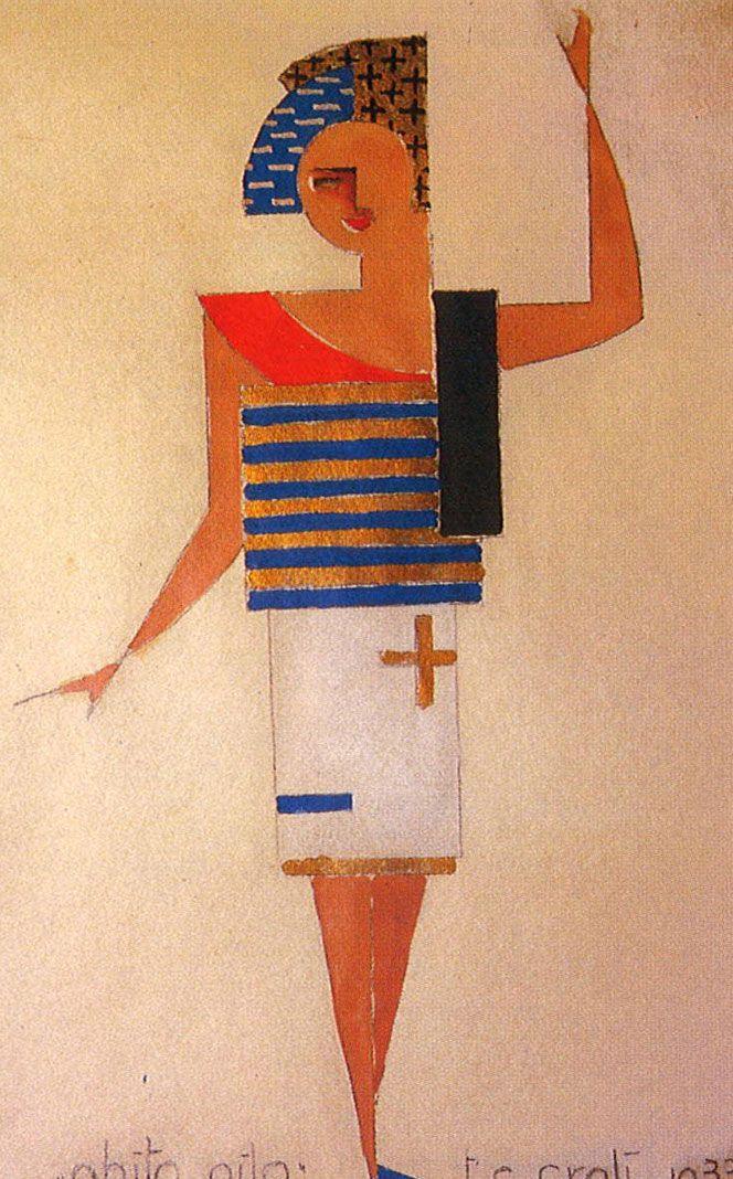 ¤ Tullio Crali. 'Battery dress' 1933. a futuristic fashion show from the past.