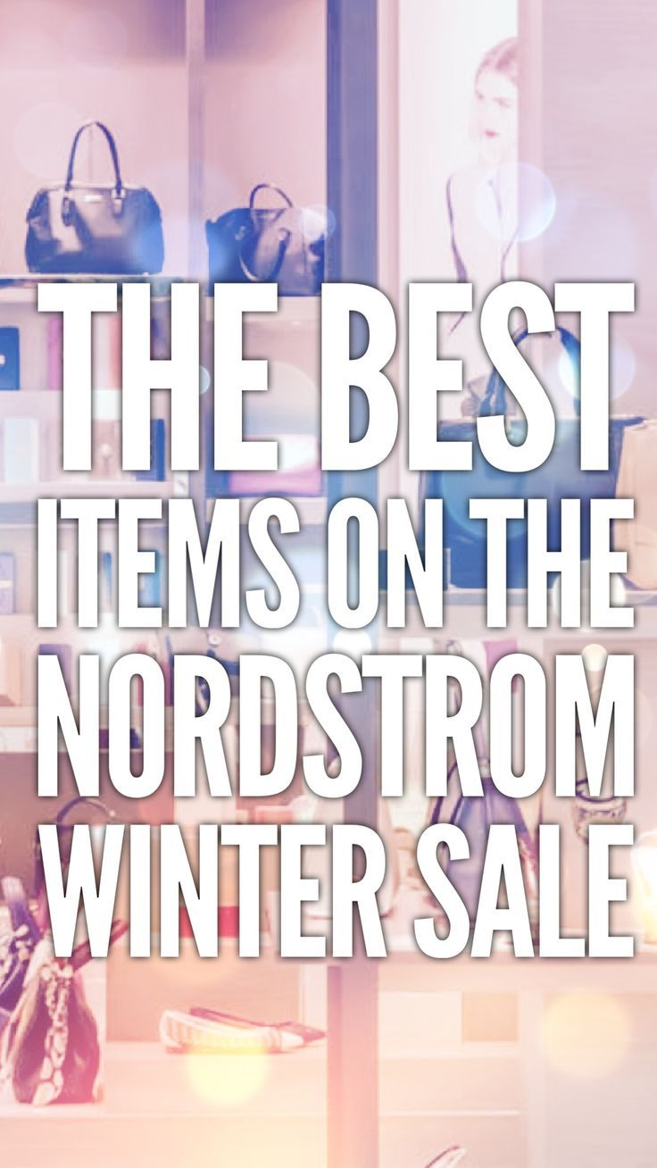 Nordstrom winter sale