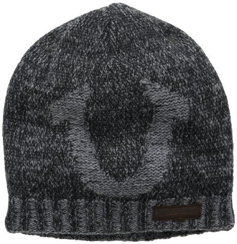 True Religion Men's Distressed Horseshoe Beanie, Black, One Size True Religion,http://www.amazon.com/dp/B00DMUFDRK/ref=cm_sw_r_pi_dp_HU91sb1YBG47HY61