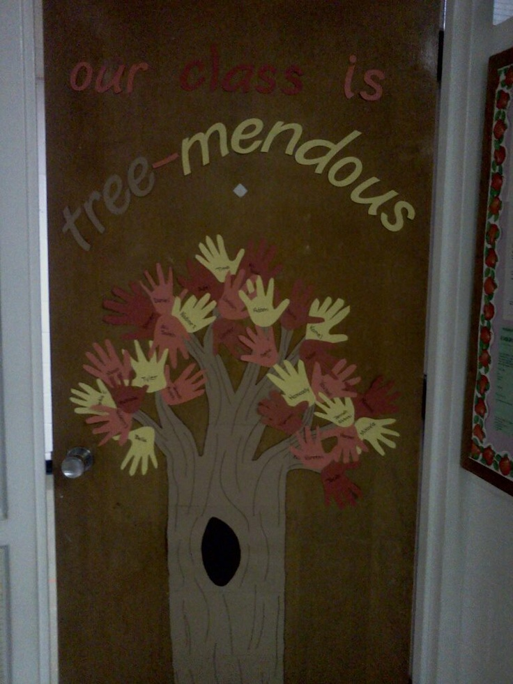 Our Door For November Designed By Me Montessori