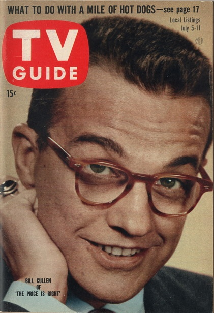 """Bill Cullen of """"The Price is Right"""" July 5-11 1958"""
