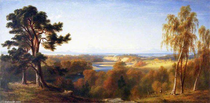Findhorn, Moray de James William Giles (1801-1870, United Kingdom)